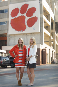 Bailey Hack and Michelle Wiltse are interning with sports technology companies.