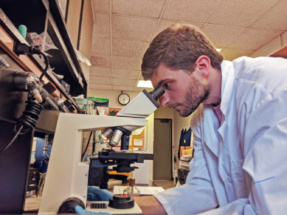 Graduate student Anthony Santilli is the lead author on the team's publication.