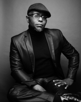 This is a photo of Pulitzer Prize-winning poet Tyehimba Jess