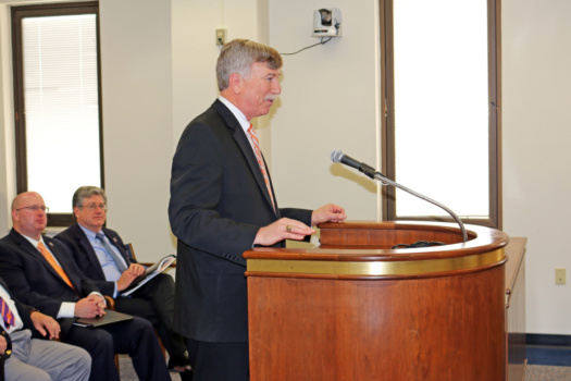 George Askew addresses House subcommittee.