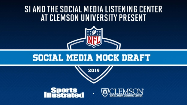 Sports Illustrated logo with credit to Clemson Social Media Listening Center