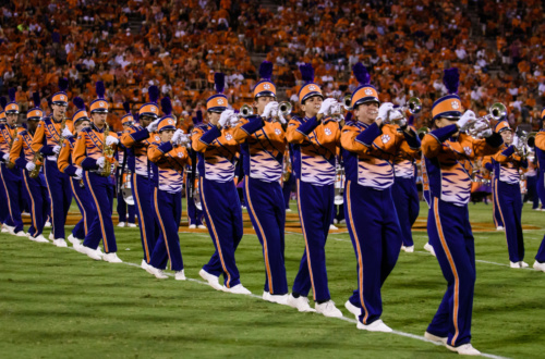 "The Tiger Band has been playing ""Tiger Rag"" for 75 years."