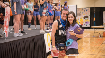 Morgan Witherspoon of Clemson Miracle during the organization's 12-hour dance marathon