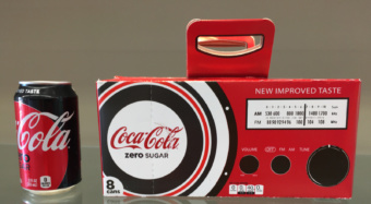Clemson packaging science students won a national contest with this design of a Coke Fridge Pack.