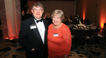 Roger and Kathy Troutman at a 2016 Student Affairs Gala